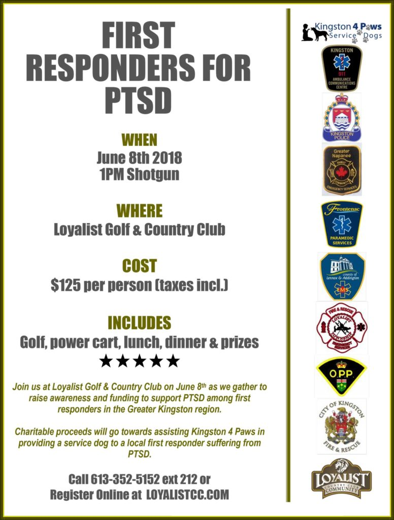 First Responders for PTSD Golf Tournament