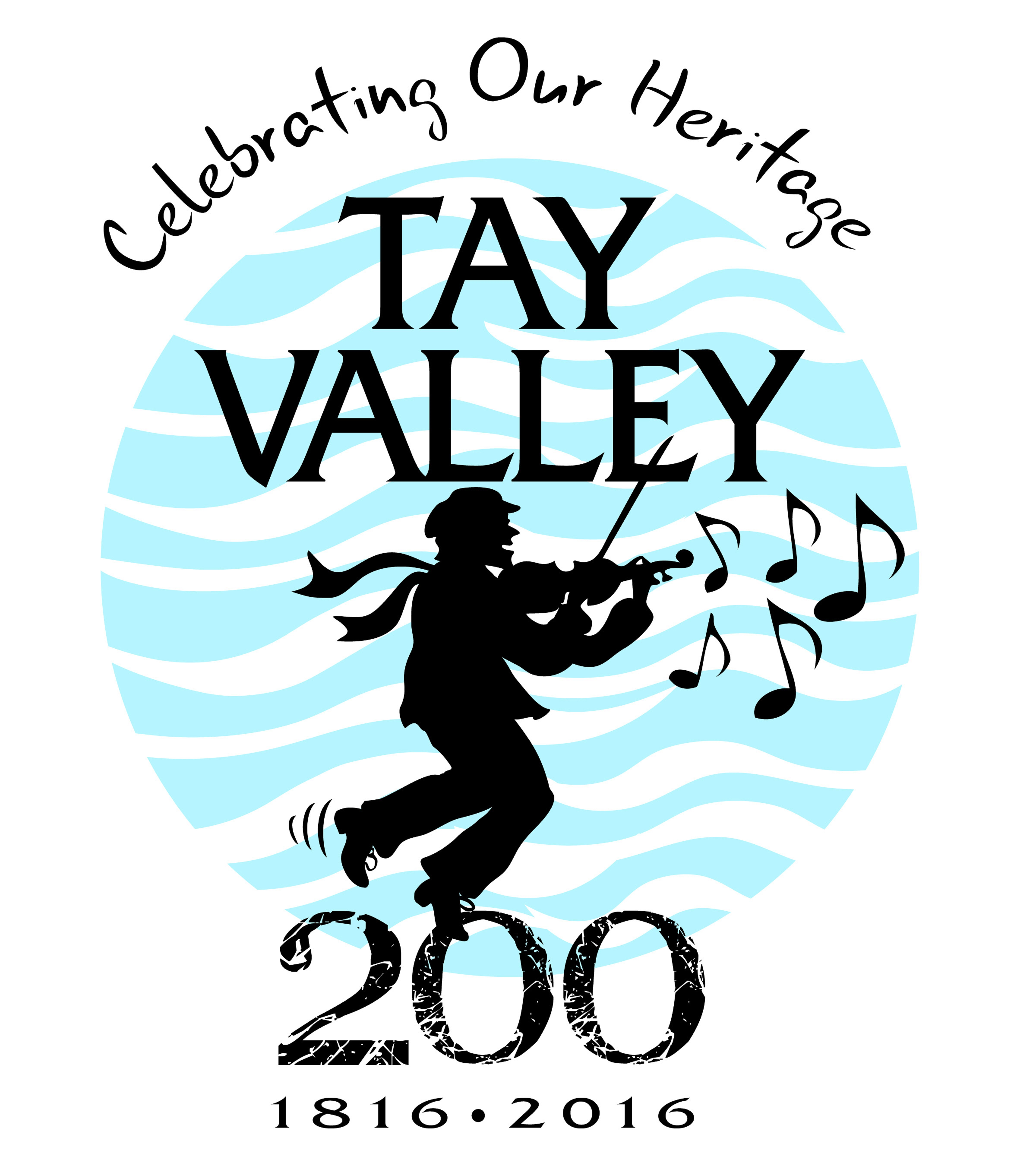 TAY VALLEY 200 Logo with Slogan and Dates