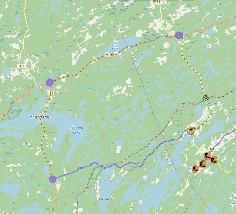 Bolingbroke Bridge Map