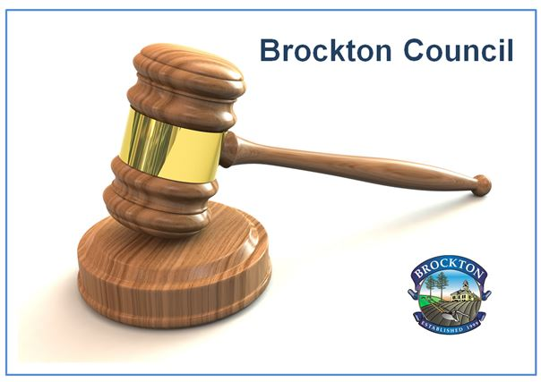 Brockton Logo and Gavel