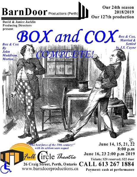 Cox and Box Complete poster 1
