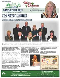 Mayor Minute December 2014 ICON