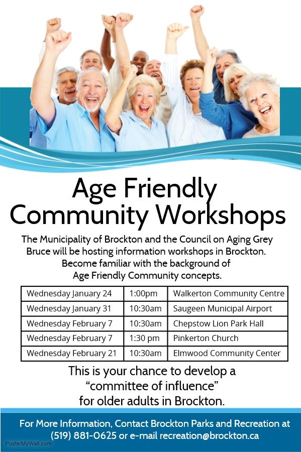 Age Friendly Community Workshops