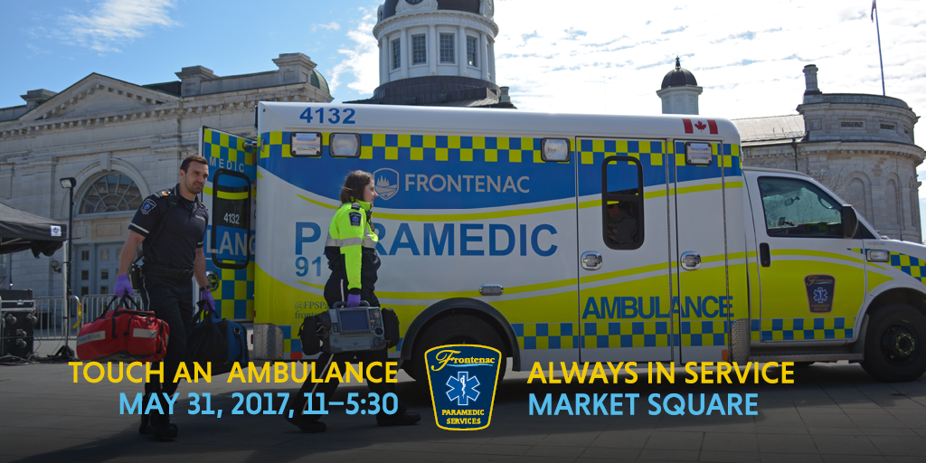 May 31 Market Square Touch an Ambulance