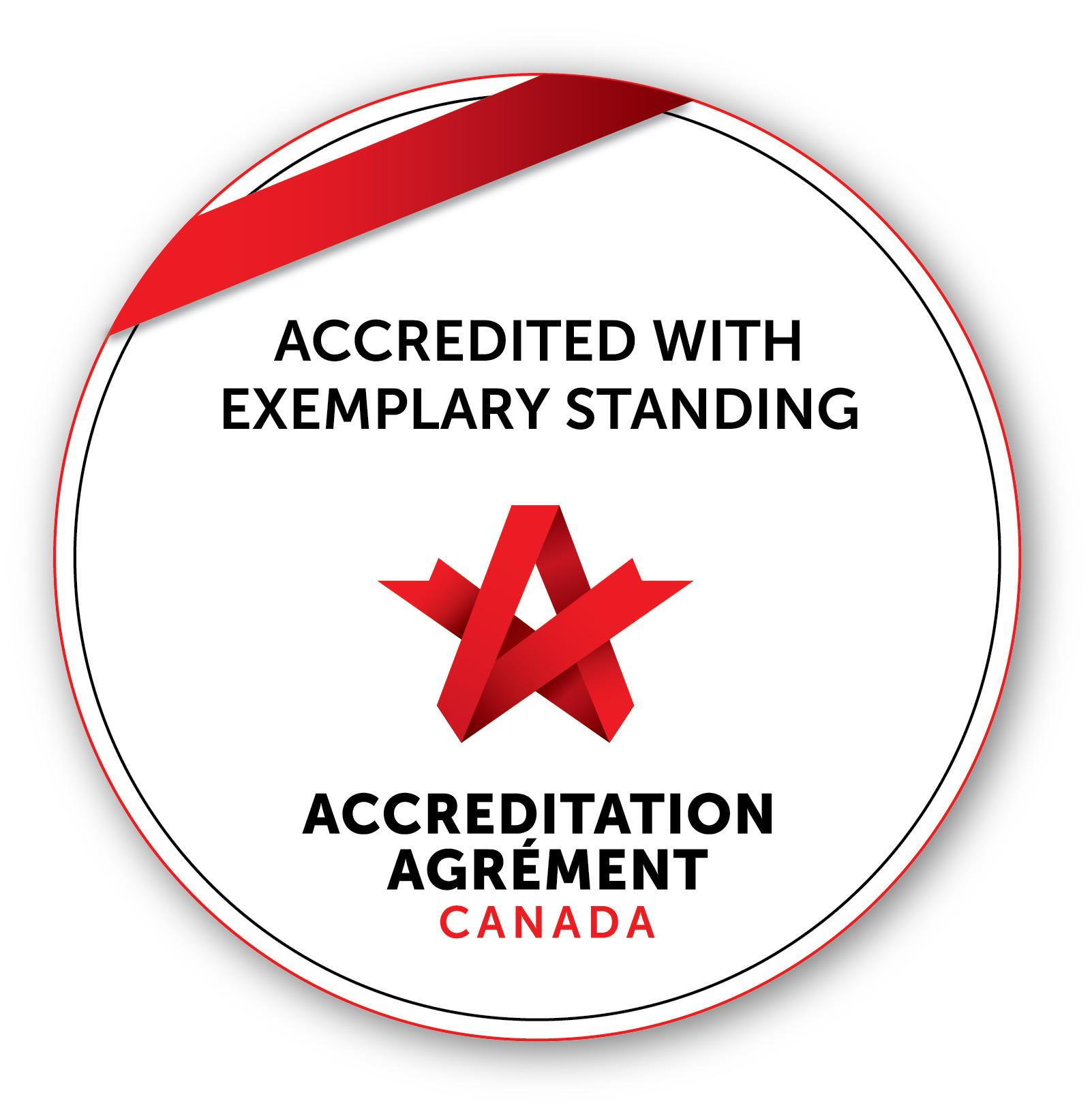 Acreditation Canada Seal - Exemplary Status