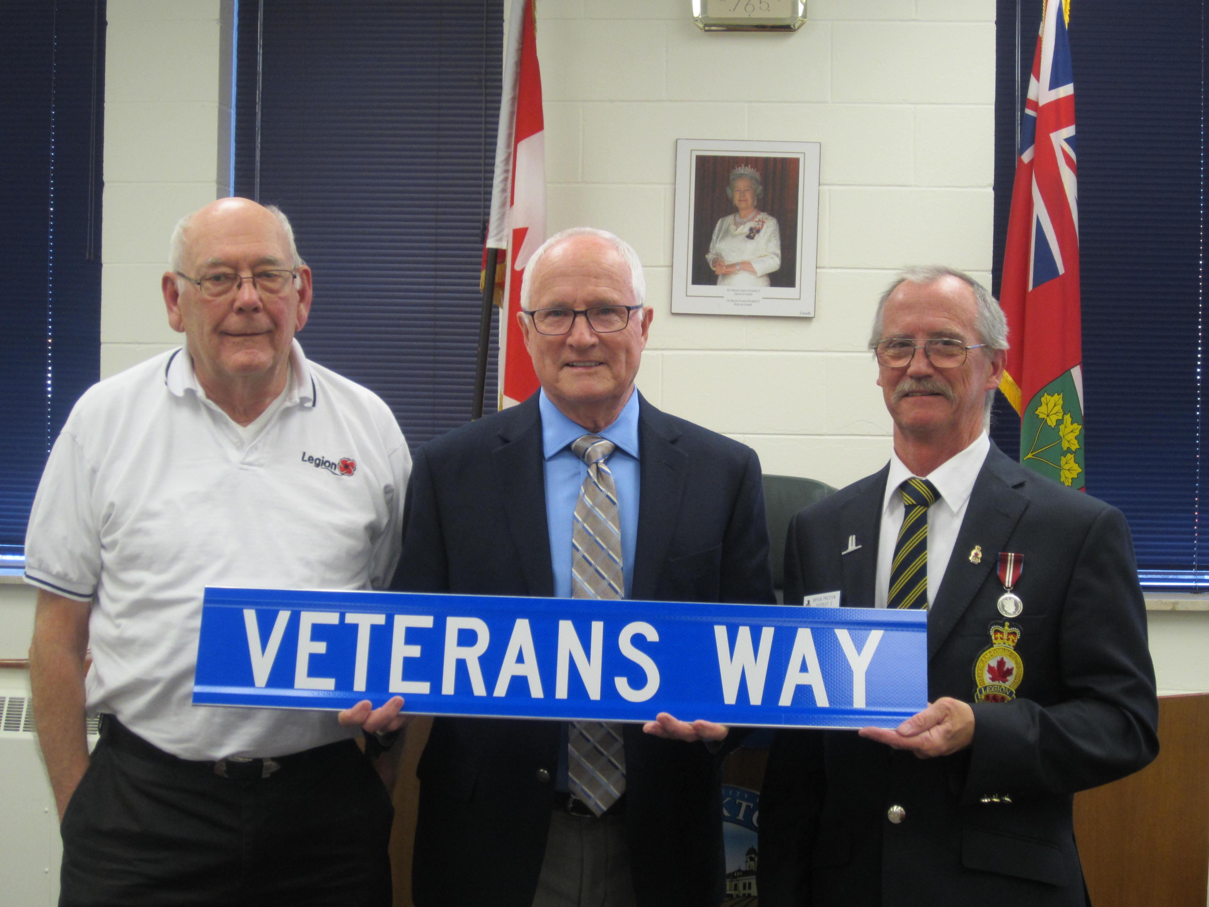Veterans Way Signs - Bryan Preston, Dennis Taylor - May 8, 2017 (2)