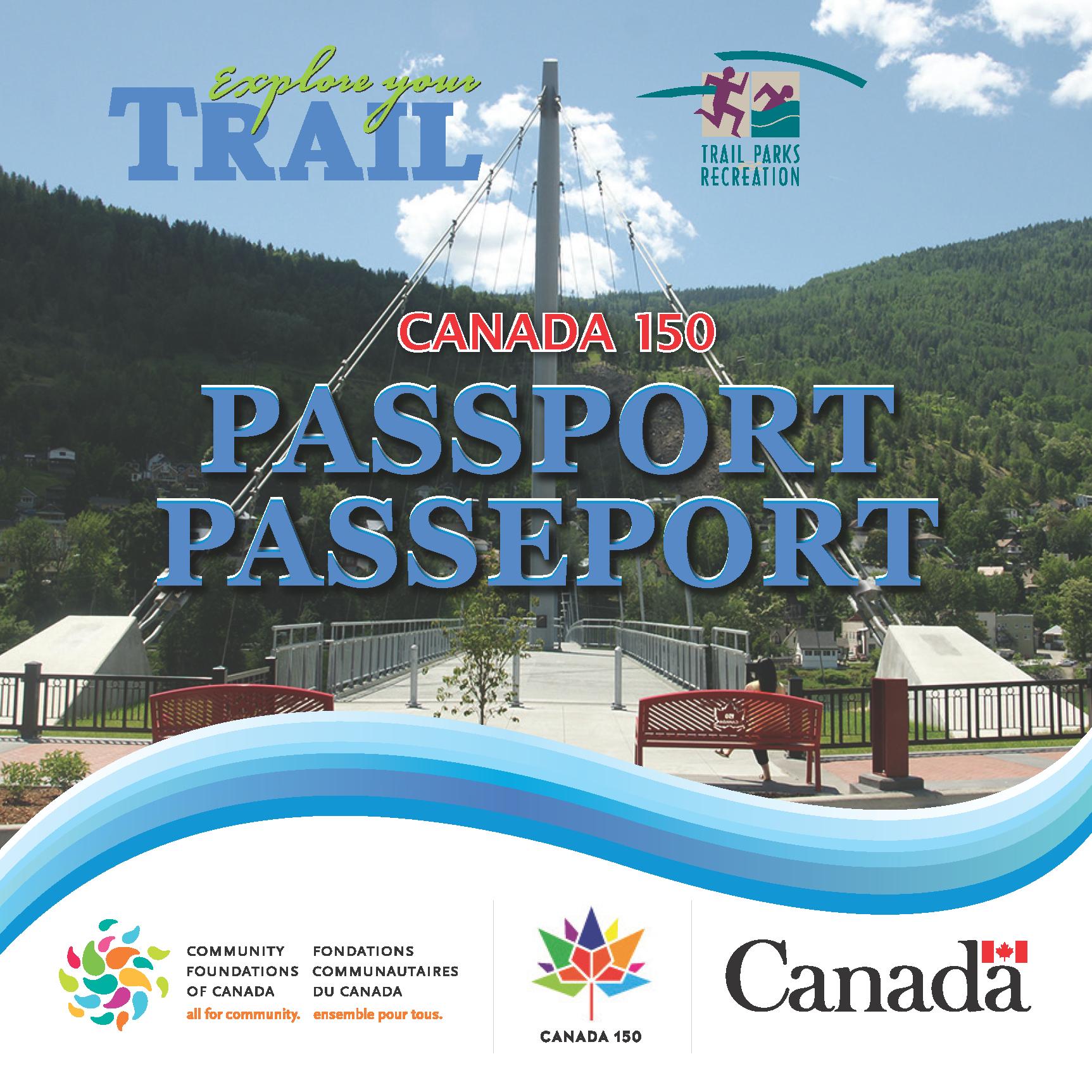 Trail Celebrates Canada 150 Passport