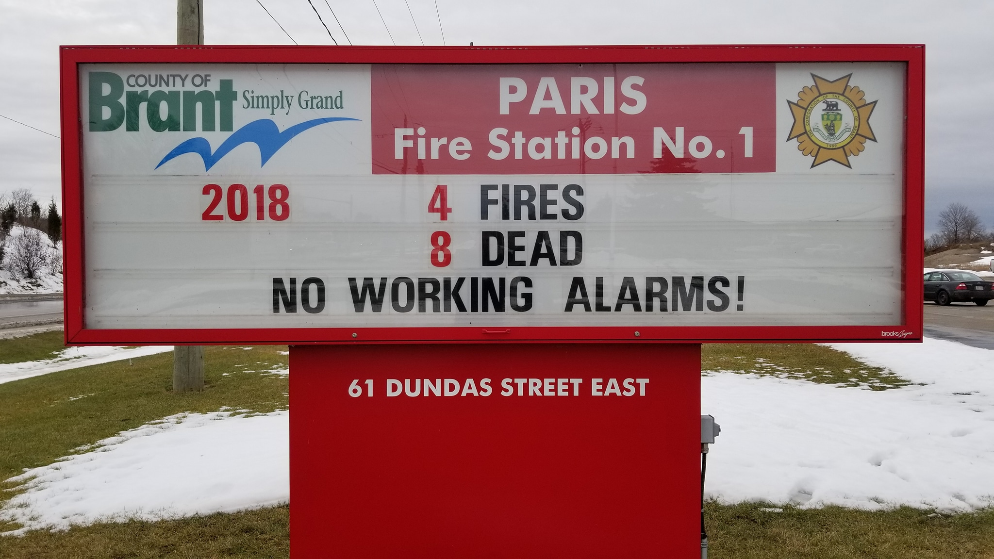 Fire sign image