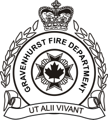 Gravenhurst Fire Logo_Black and white