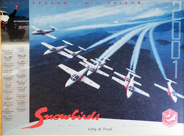 Snowbirds 2001 Trail Visit