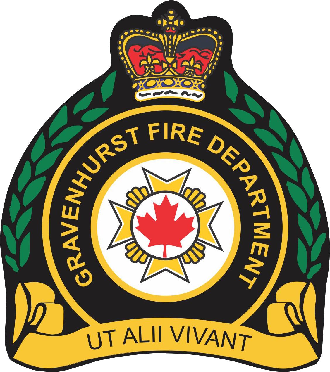 Gravenhurst Fire Logo