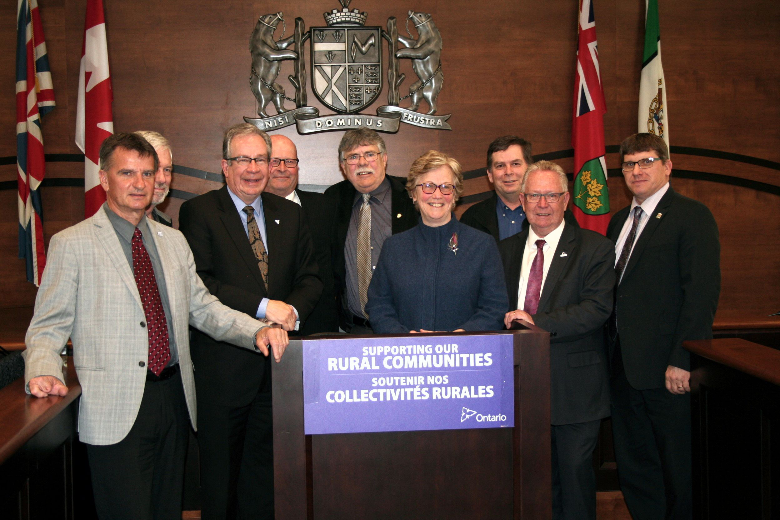 EORN Board of Directors with Minister Jeff Leal