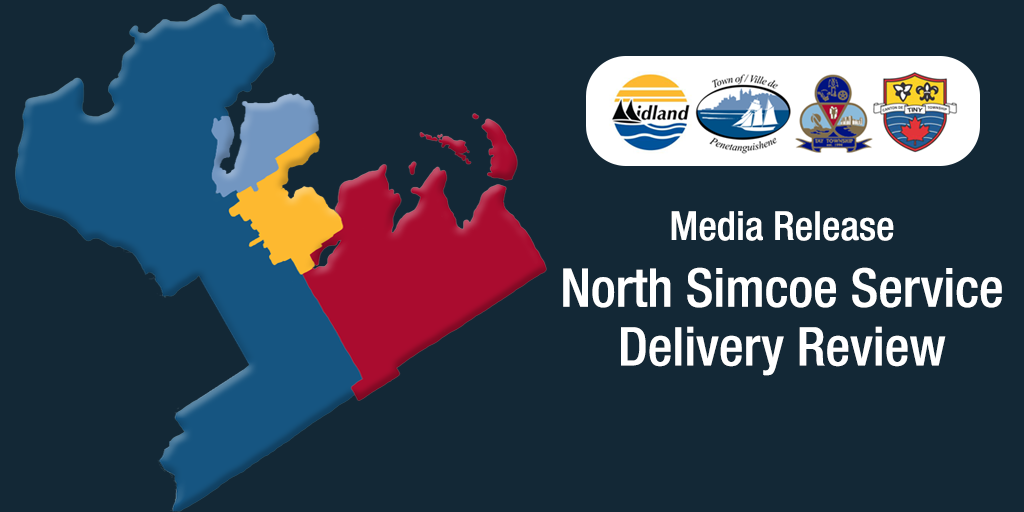 Media Release - North Simcoe Service Delivery Review - social