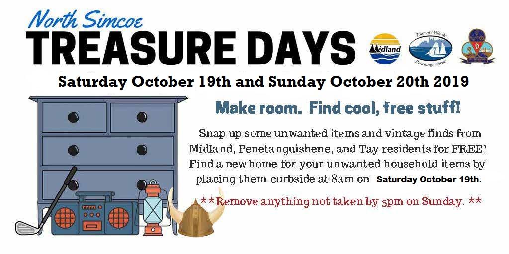 North Simcoe Treasure Day Weekend