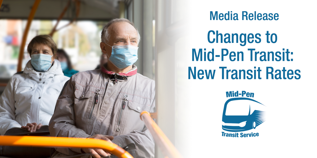 Media Release - Changes to Mid-Pen Transit - New Transit Rates
