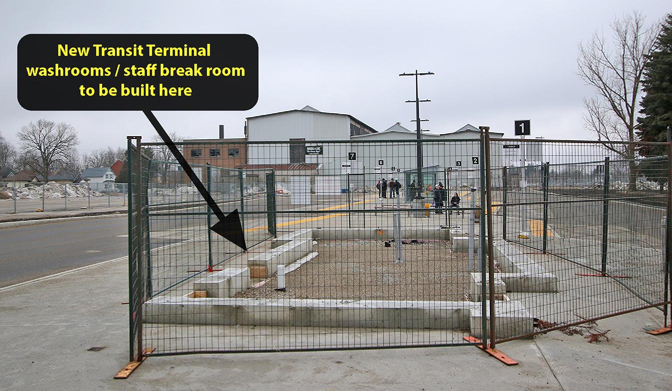 Transit Terminal Construction