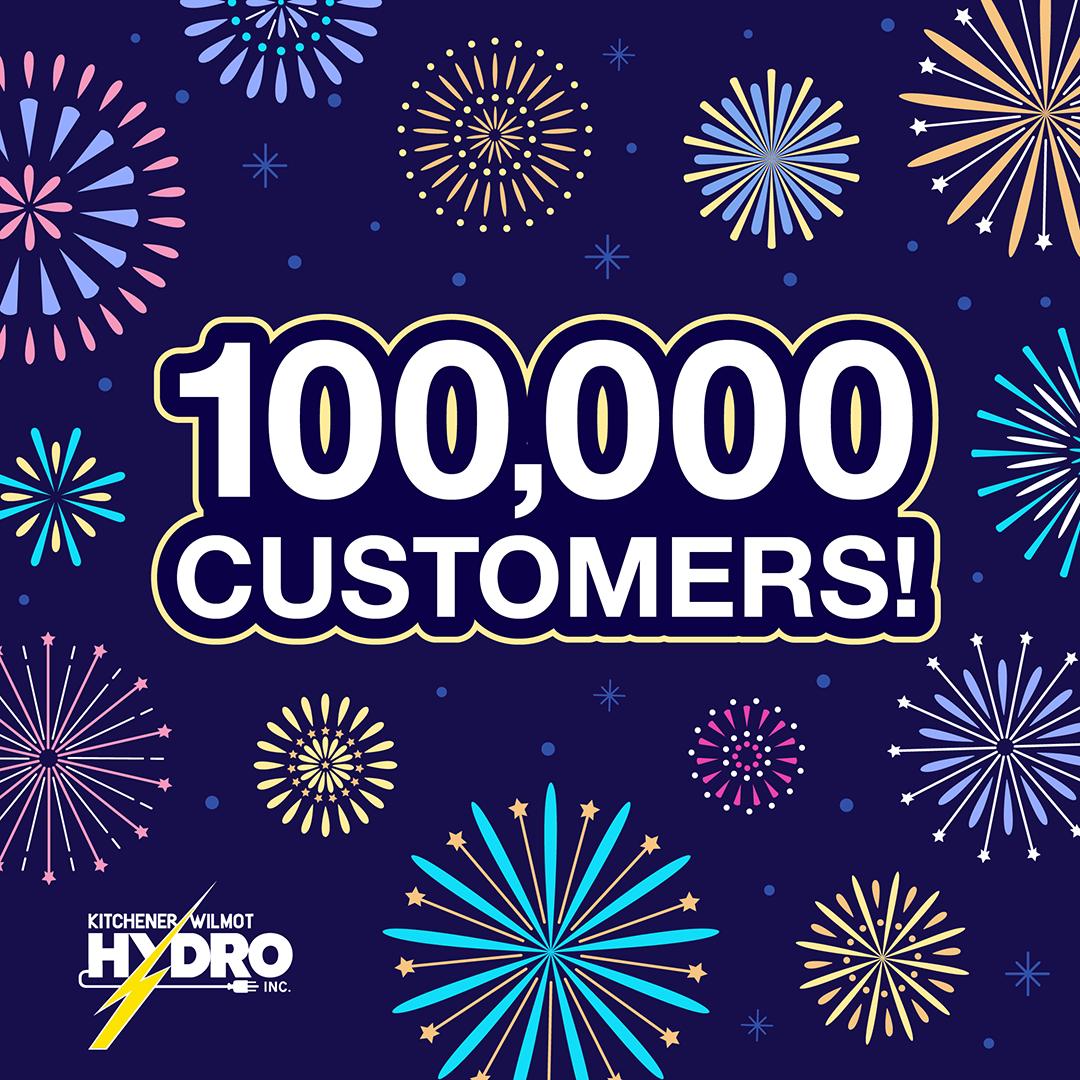 100,000 customers