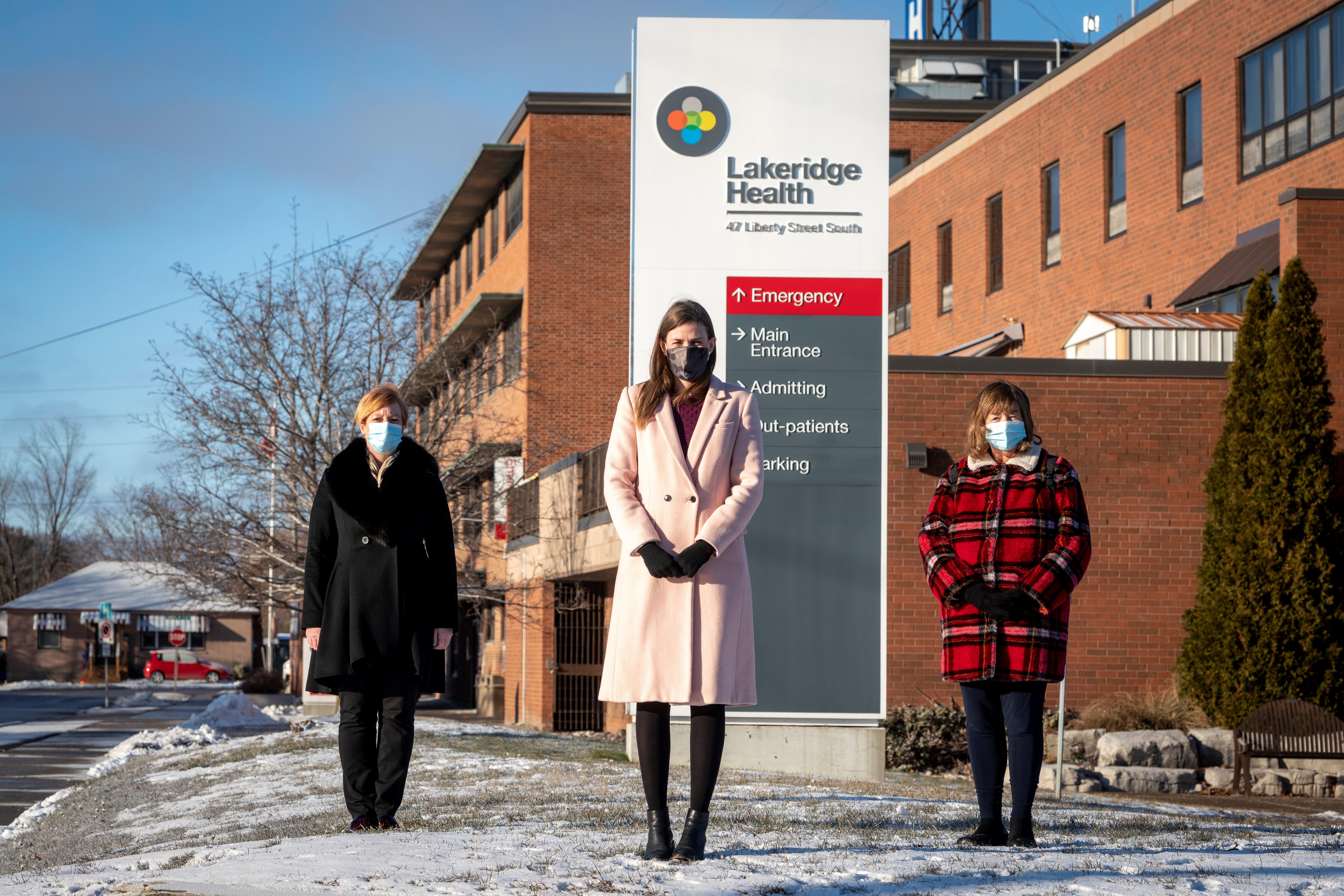Bowmanville Hospital Redevelopment Announcement