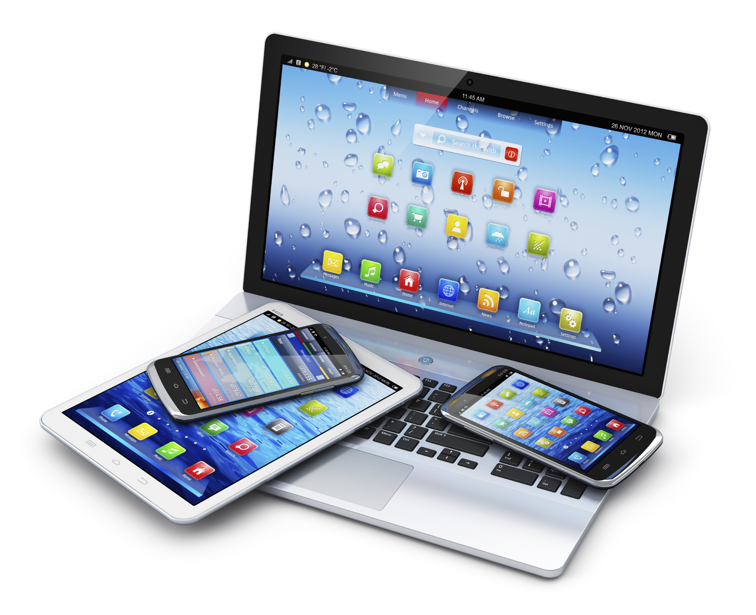 laptop-smartphone-tablets