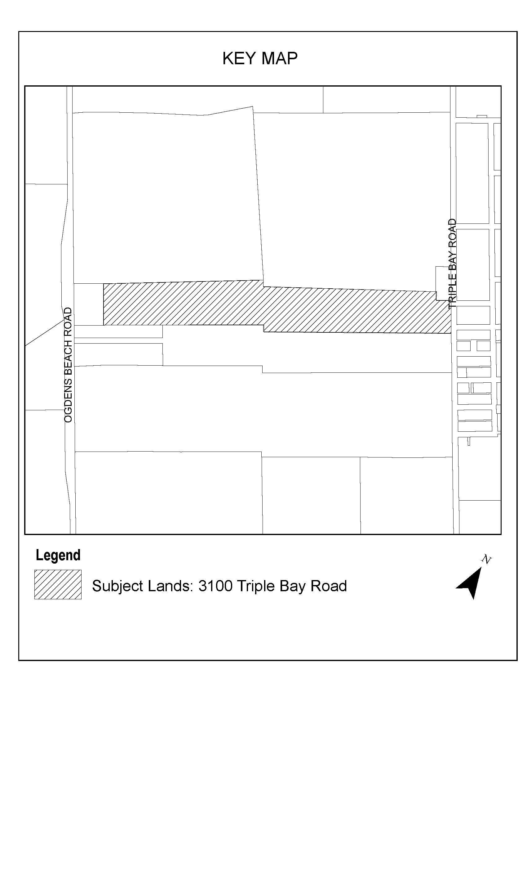MZO 3100 Triple Bay Road - Key Map