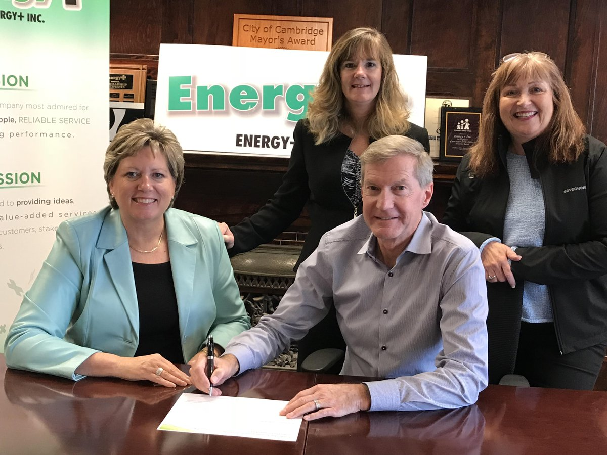 Energy+ Signs Leadership Accord