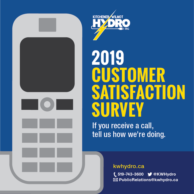 2019 Customer Satisfaction Survey Graphic