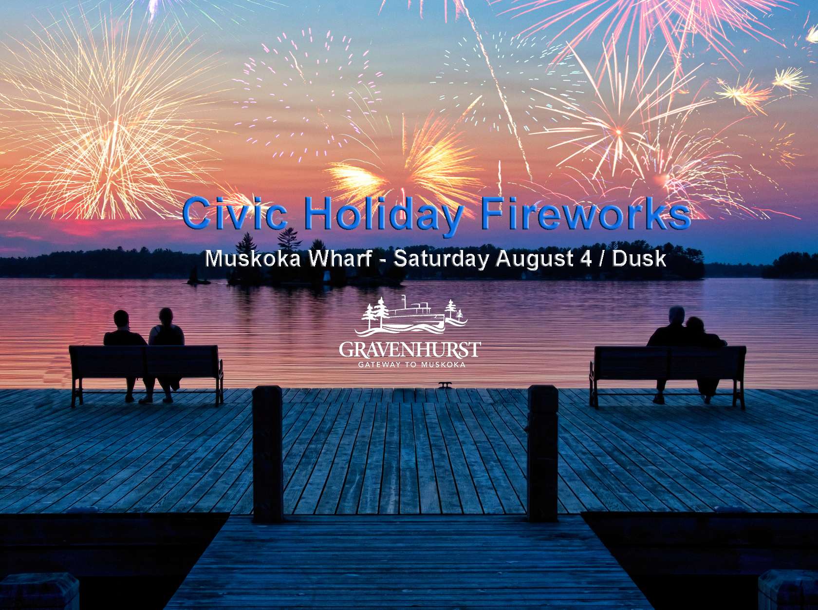 Civic Holiday Fireworks Banner2018