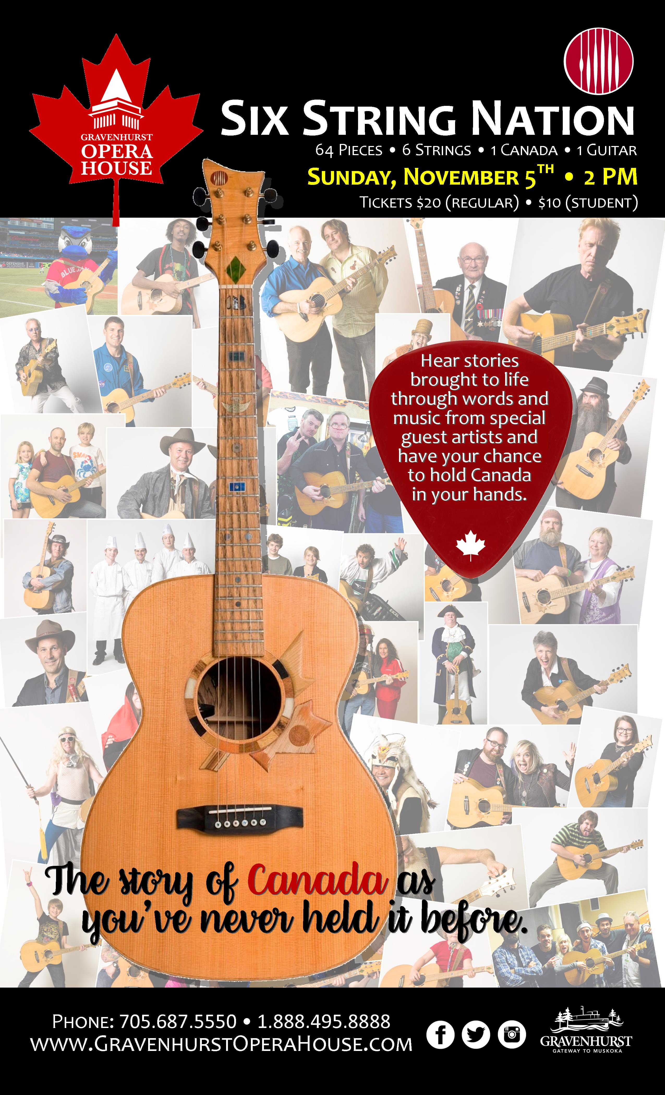 Six String Nation - Show Poster - FINAL