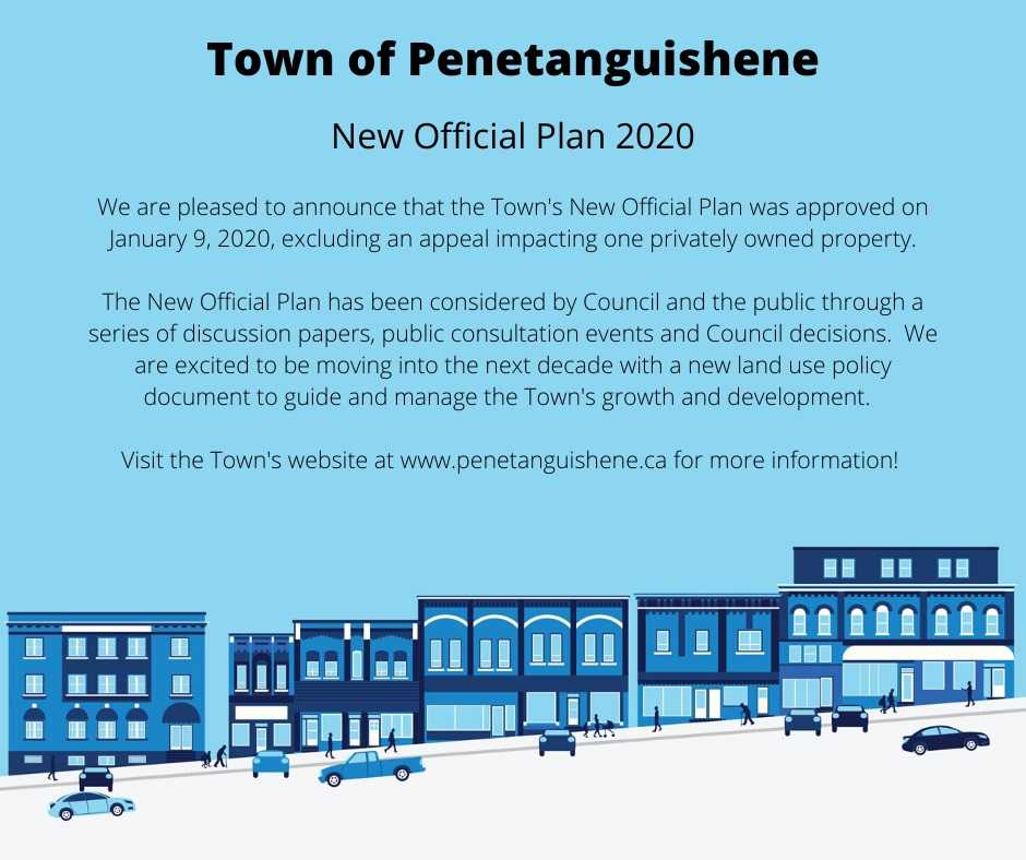 Official Plan Approval Announcement
