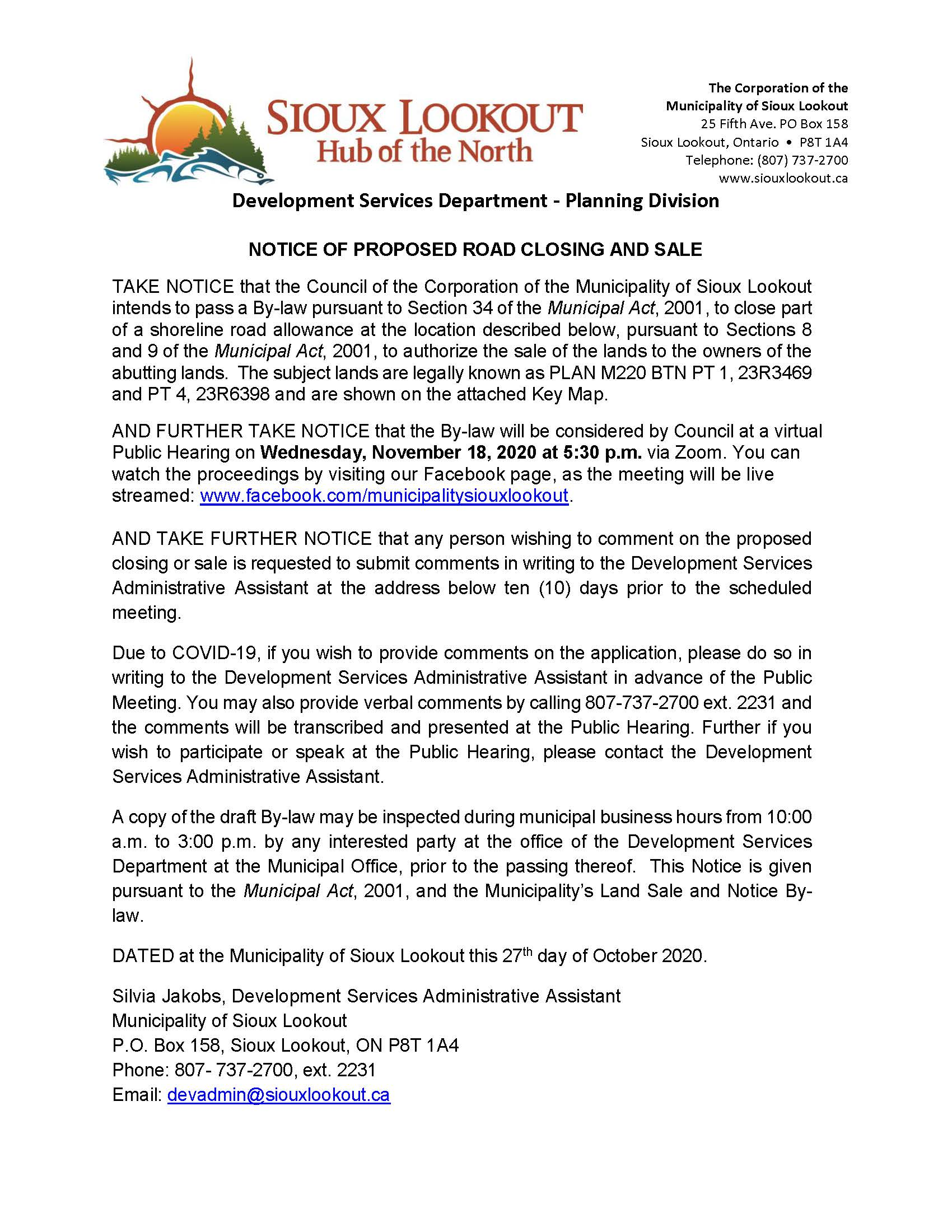 Notice of Public Meeting (Knobby's)_Page_1