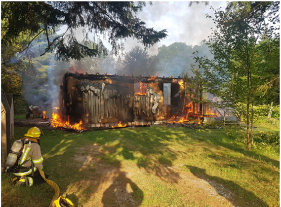 structure fire aug 6 18