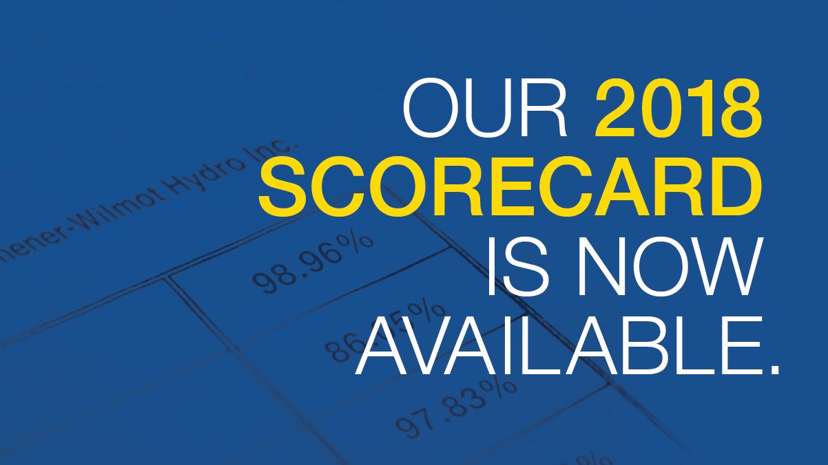 KWHI's 2018 Scorecard