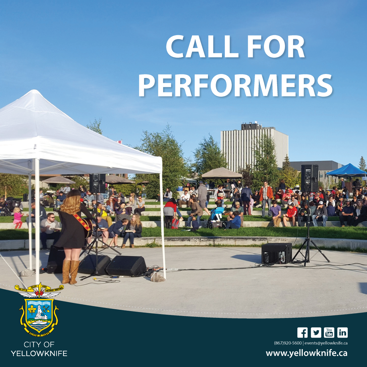Media Advisory: Call for Performers