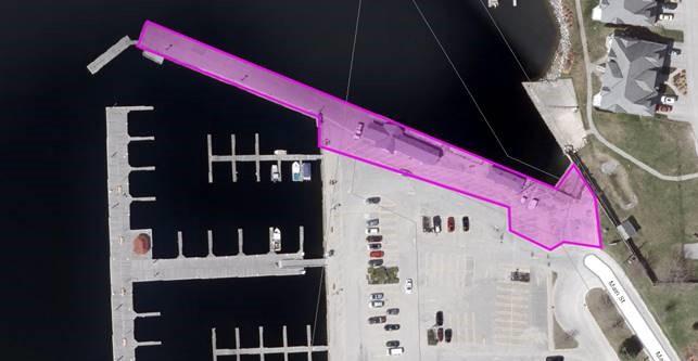 Wharf Repair Work Zone