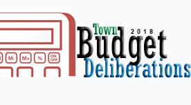 Budget Deliberations 2018