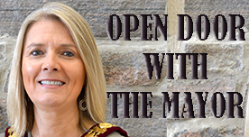 Open Door With The Mayor