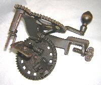 Mechanical Apple Peeler